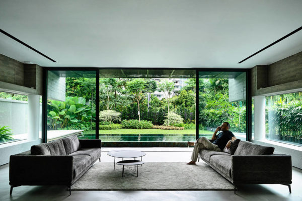 Ong & Ong Faber Hill Singapore nature living space interior exterior