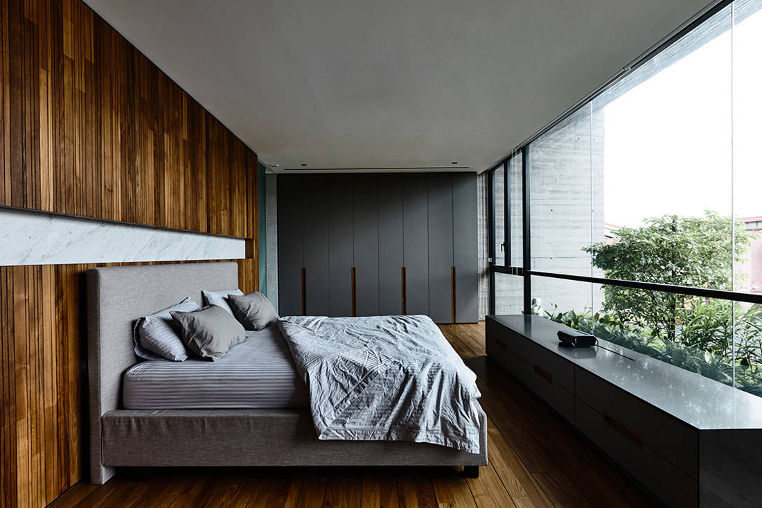 Ong & Ong Faber Hill Singapore nature master bed