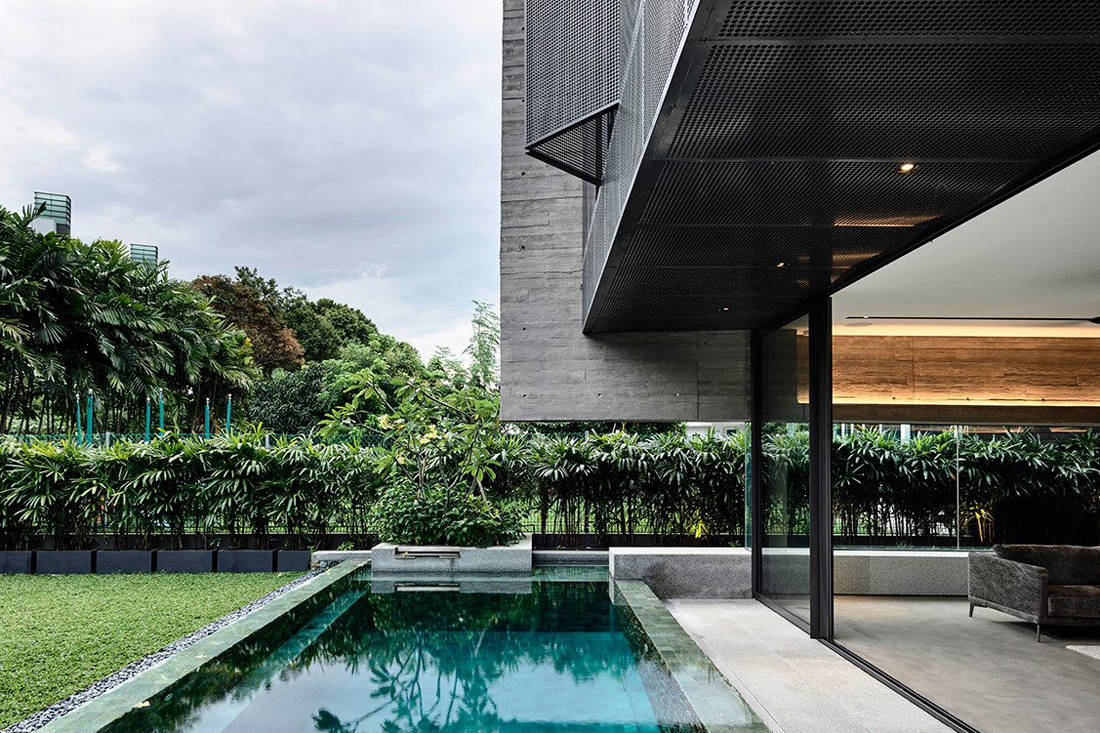Ong & Ong Faber Hill Singapore nature pool exterior