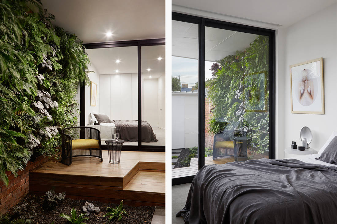 Victorian house - Downside Up House by WALA bedroom