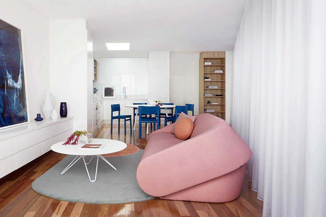 Victorian house - Downside Up House by WALA flexible living space