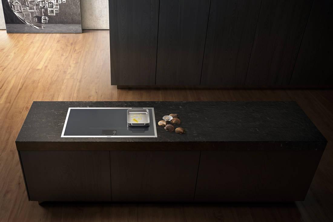 black kitchen appliances - Gaggenau Fulls surface induction cooktop (2)
