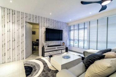 A bright, modern home in white