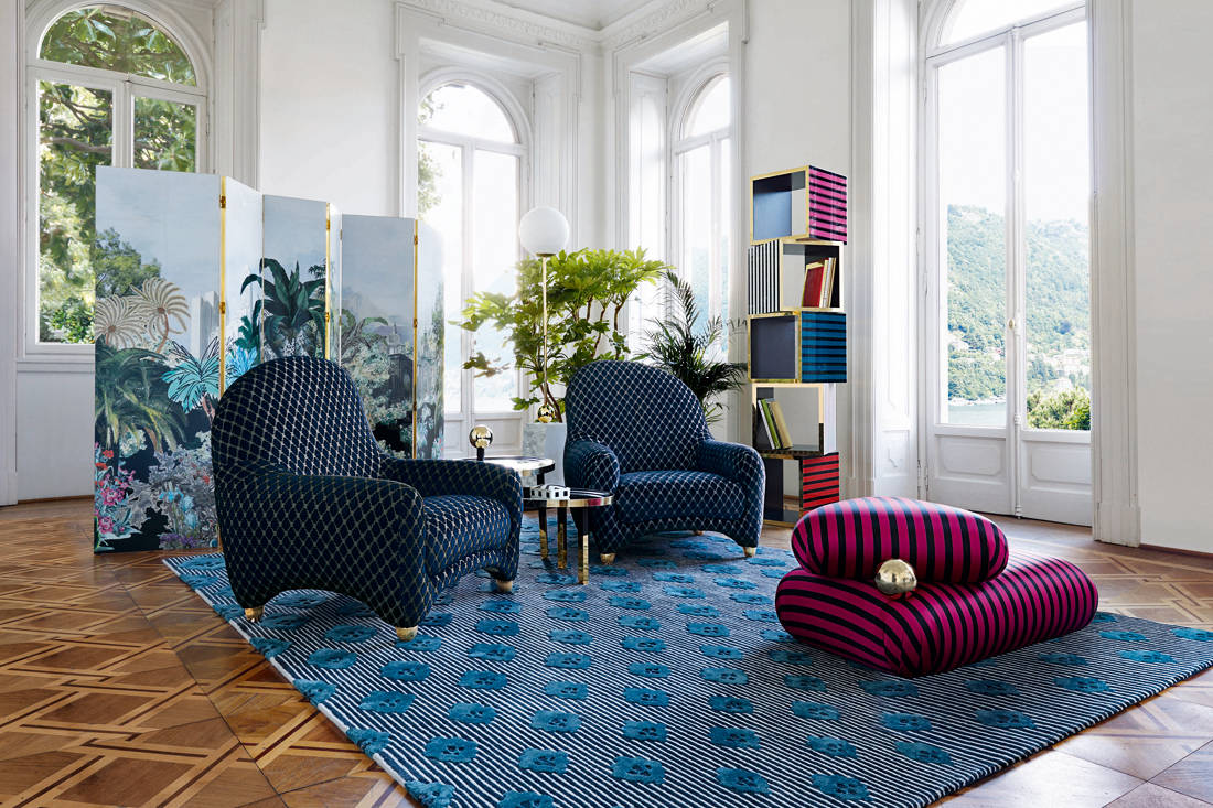 new home furnishing stores - Christian Lacroix Maison for Roche Bobois