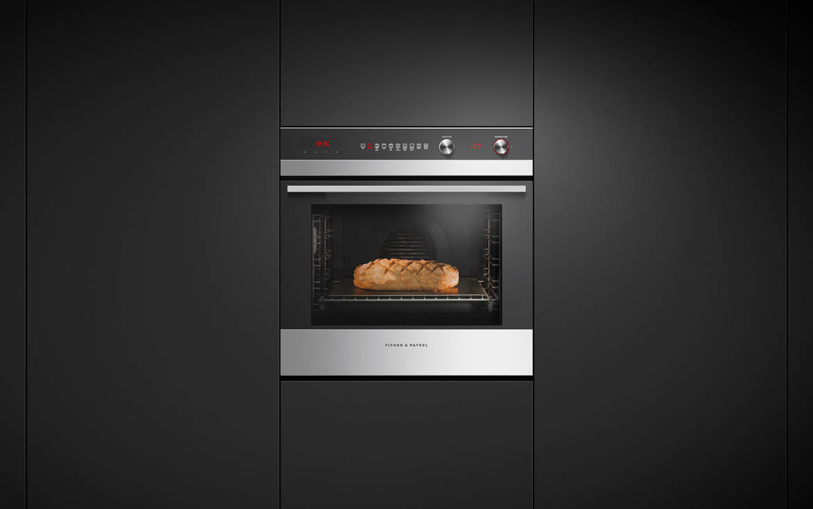 Fisher & Paykel Single 9 Function Built-in Oven