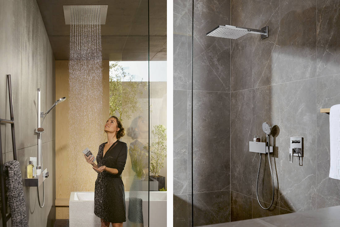 showerheads - hansgrohe Raindance E overhead shower (2)