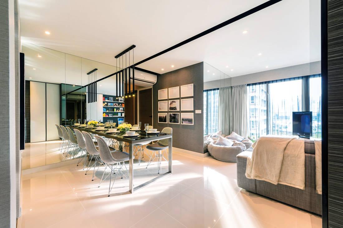 An HDB flat that looks like a stylish