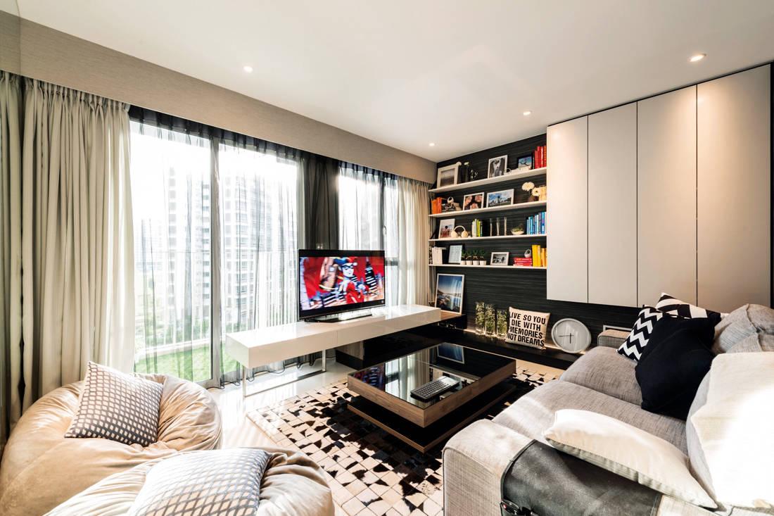 Intermod Space HDB flat looks like show flat living room