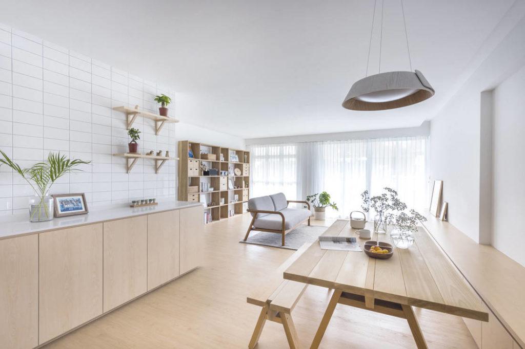 minimalist living room image inspiring | Japanese way of living in an HDB flat | Lookboxliving