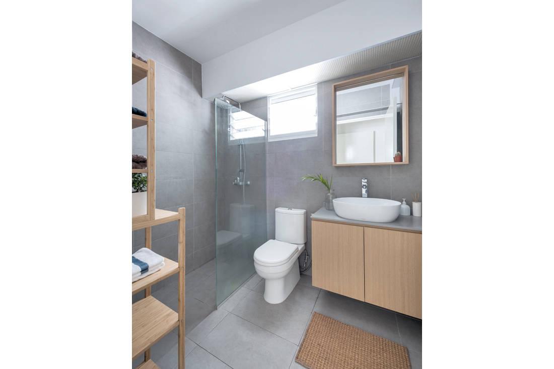 Kallang Trivista by D5 Studio Image - Japanese inspired HDB flat bathroom