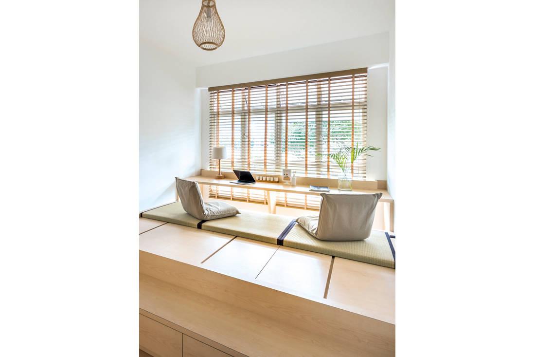 Kallang Trivista by D5 Studio Image - Japanese inspired HDB flat study