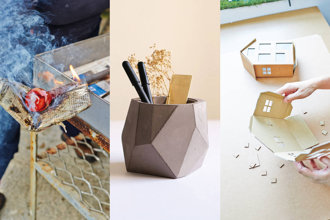 Lookbox Living Inspiration issue - Artglasssolutions, Concrete Everything, Paper Carpenter