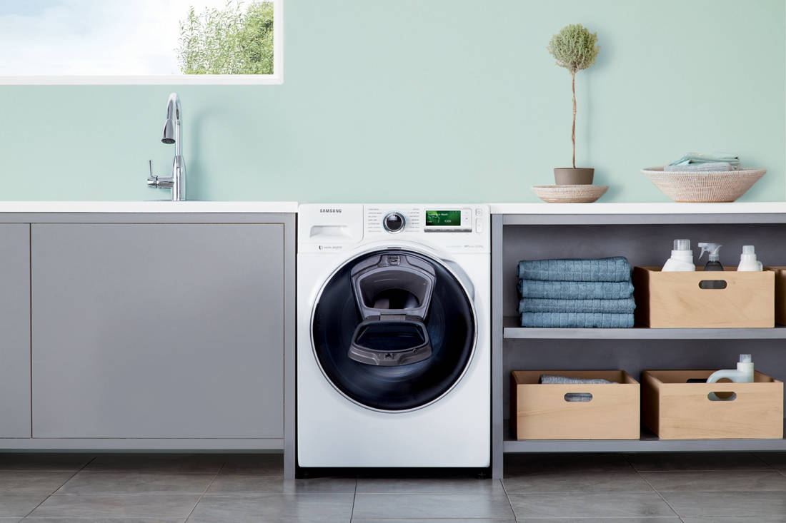 Lookbox Living Inspiration issue - Samsung AddWash Washing Machine
