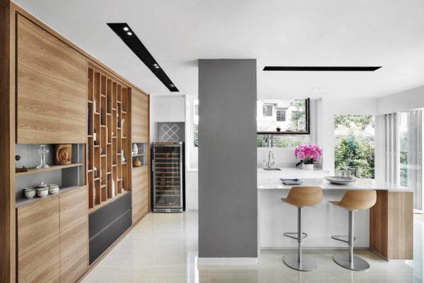 Terrace house kitchen by Design Zage