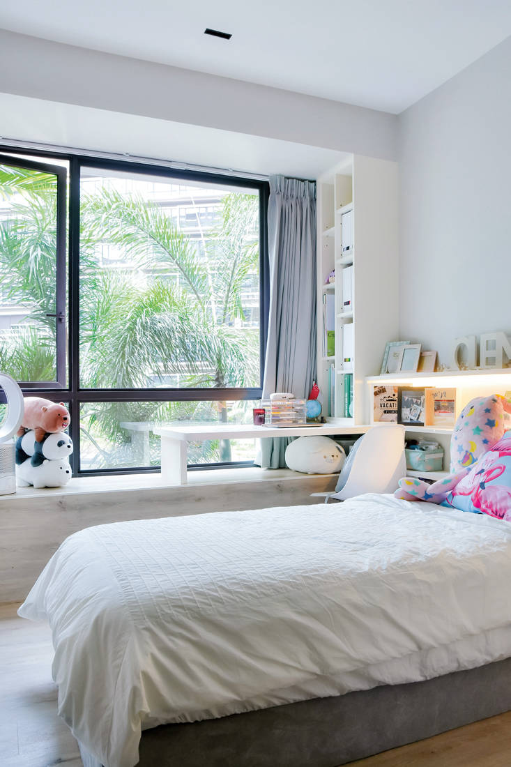 Unity ID D Nest condo masculine touches daughter's bedroomjpg