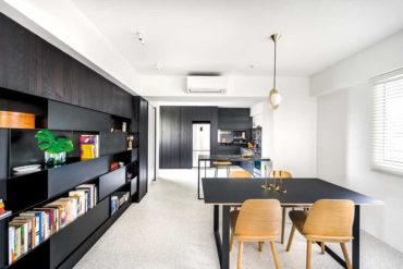 HDB flat turned bachelorette dream home