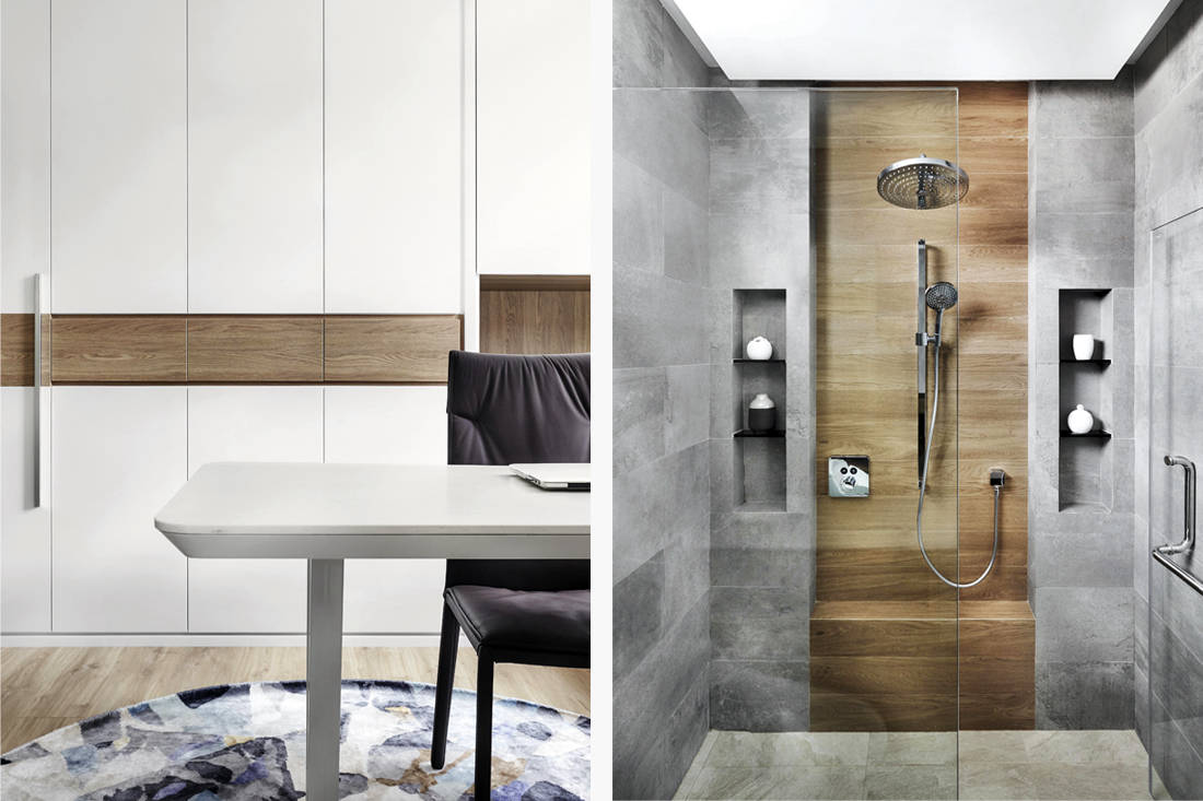 terrace house study and bathroom by Design Zage