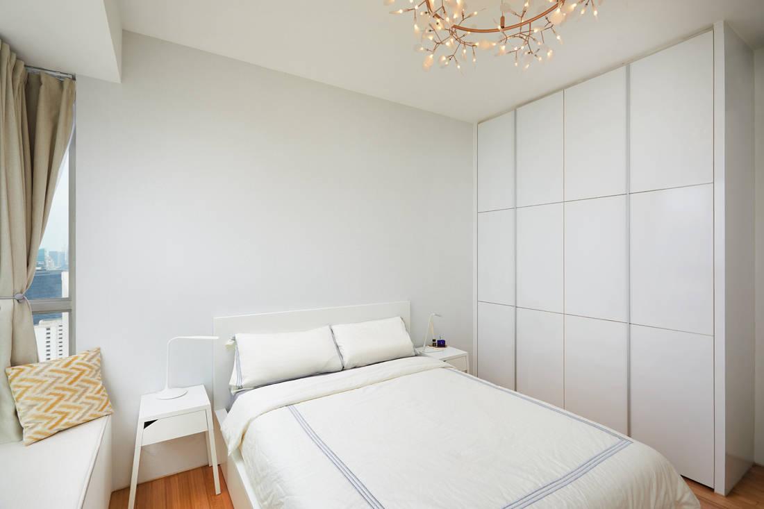 86 Jellicoe Rd open-plan condo bedroom by Design 4 Space