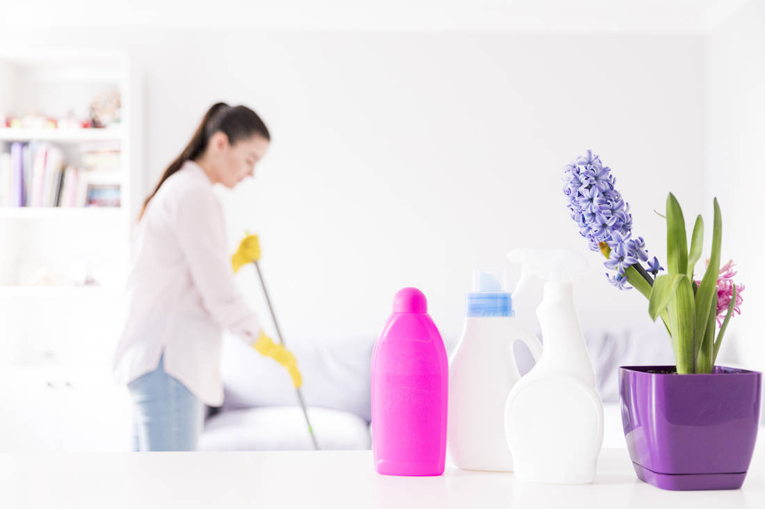 Earth Day Tips - non-toxic cleaning products