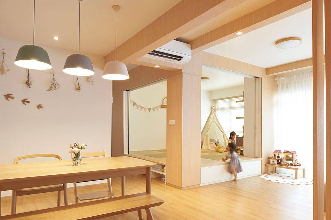 An Hdb Flat With Japanese Design Sensibilities