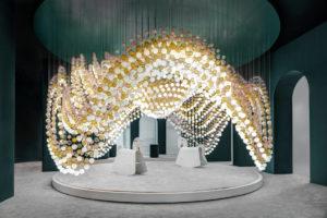 Euroluce 2019 - Preciosa installation