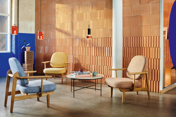 solid wood Fritz Hansen MIlan design week