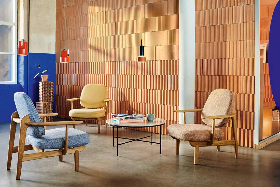 solid wood Fritz Hansen MIlan design week