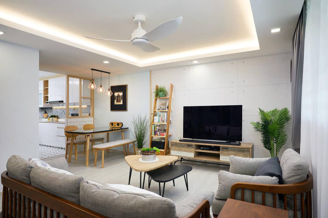 Scandinavian HDB resale flat by Design 4 Space