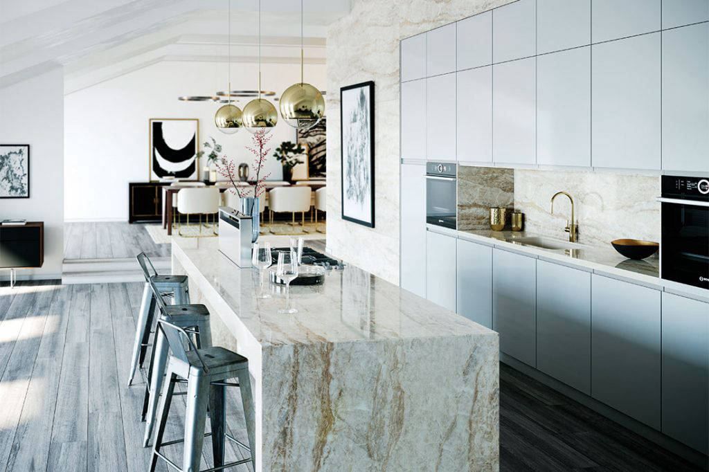 lookbox living reno kitchen dekton