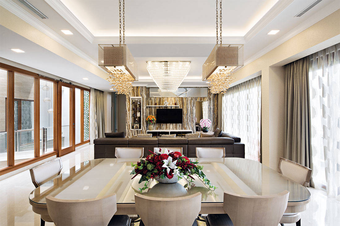three-storey bungalow ultimate interior creation