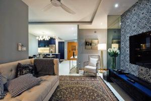 modern moroccan HDB flat by Fatema Design Studio