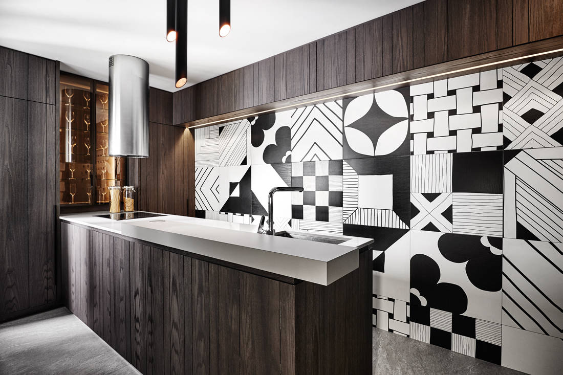 tiles as feature wall by wee studio