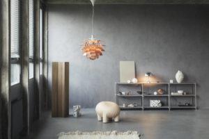 PH Artichoke In Copper Living Room