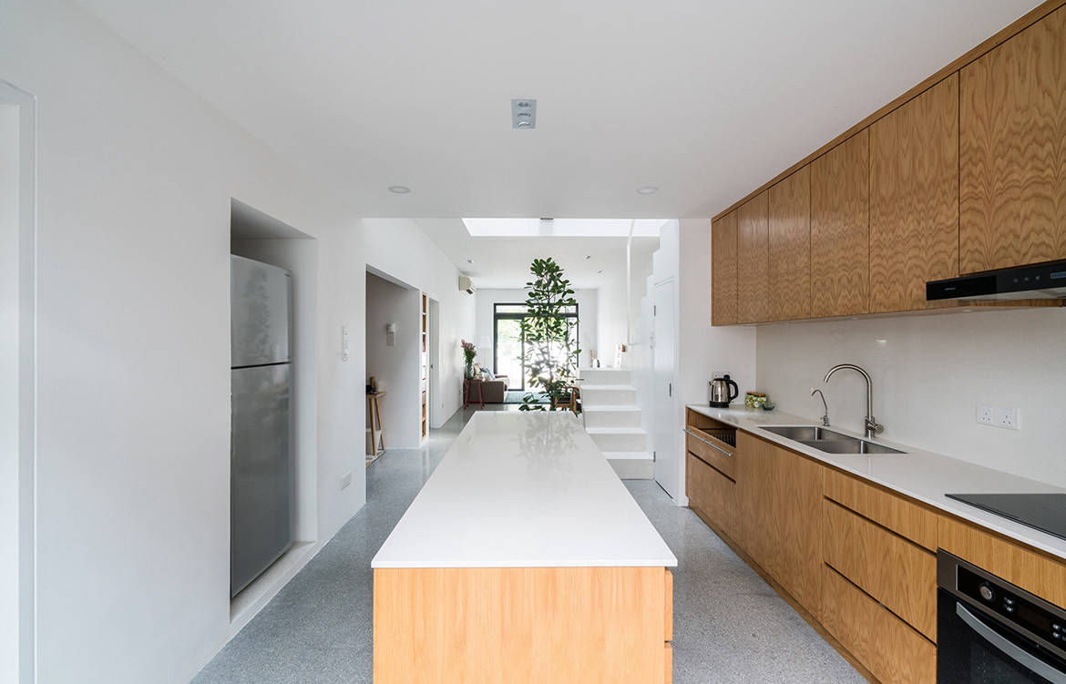 A Terrace House Undergoes More Than A Renovation