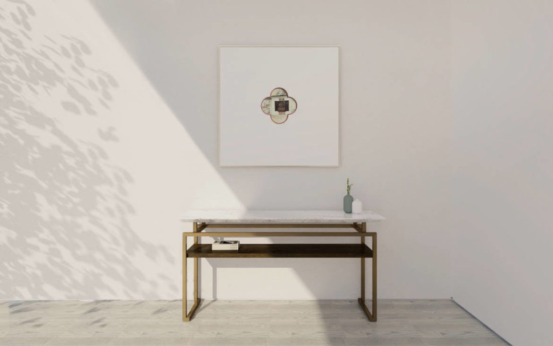 Lookbox Living Collection MING Console Table Double Layer 004