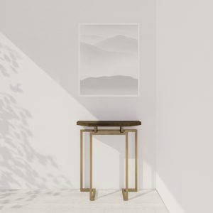 Lookbox Living Collection MING Half Octagon Console 003