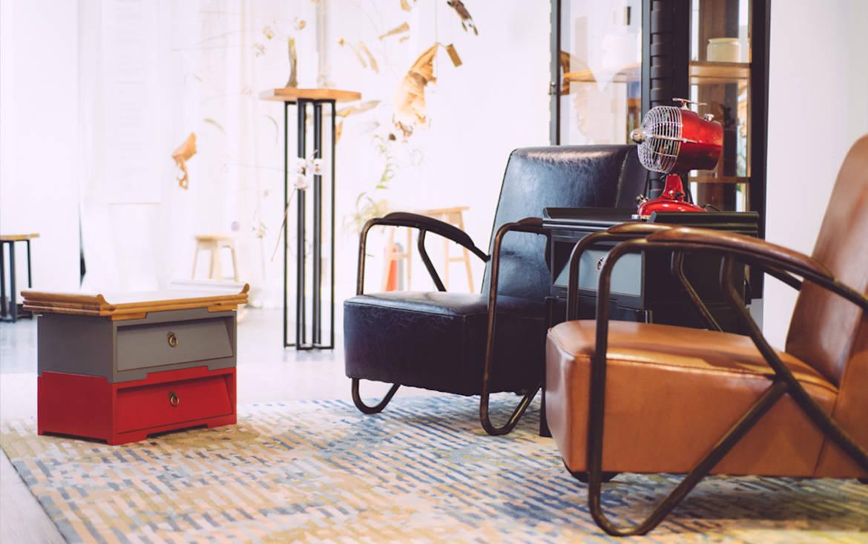 Lookbox Living Collection THE MAVERICK Armchair 003