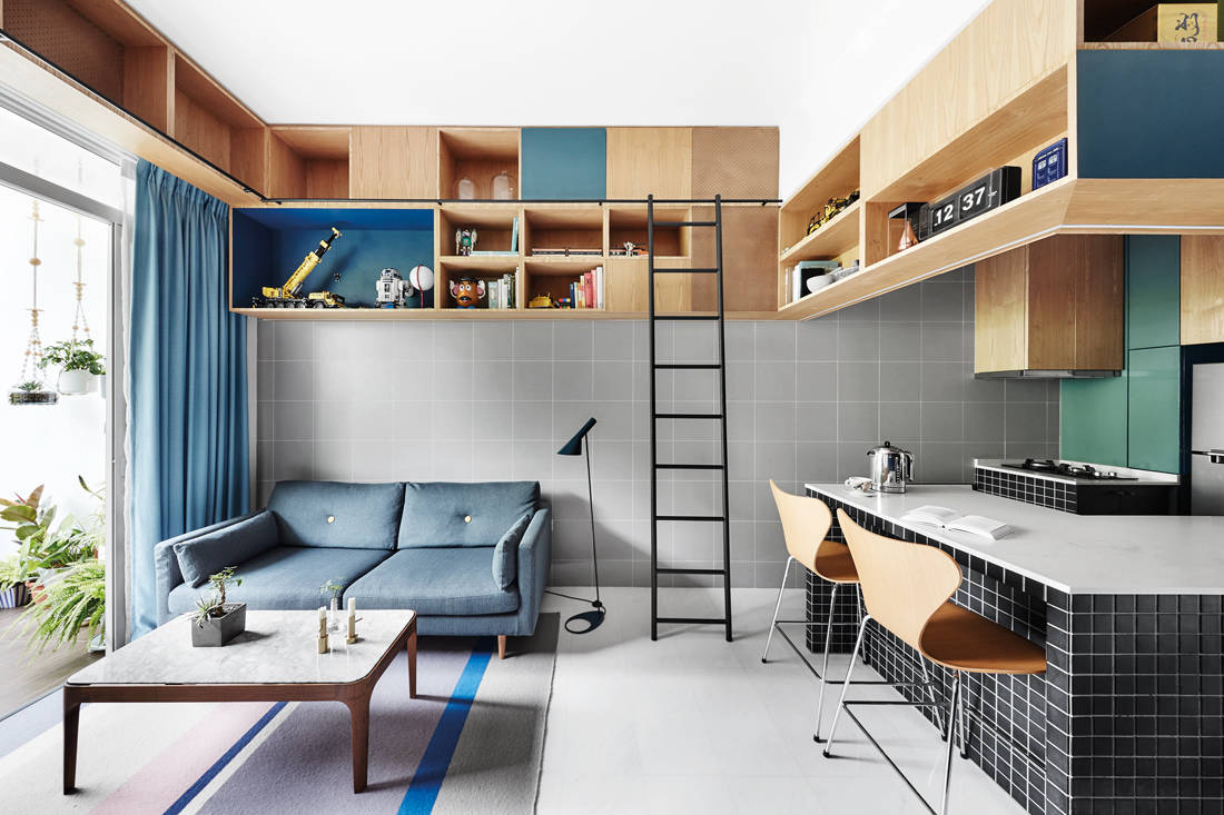 award-winning homes - AM Apartment by wynk collaborative