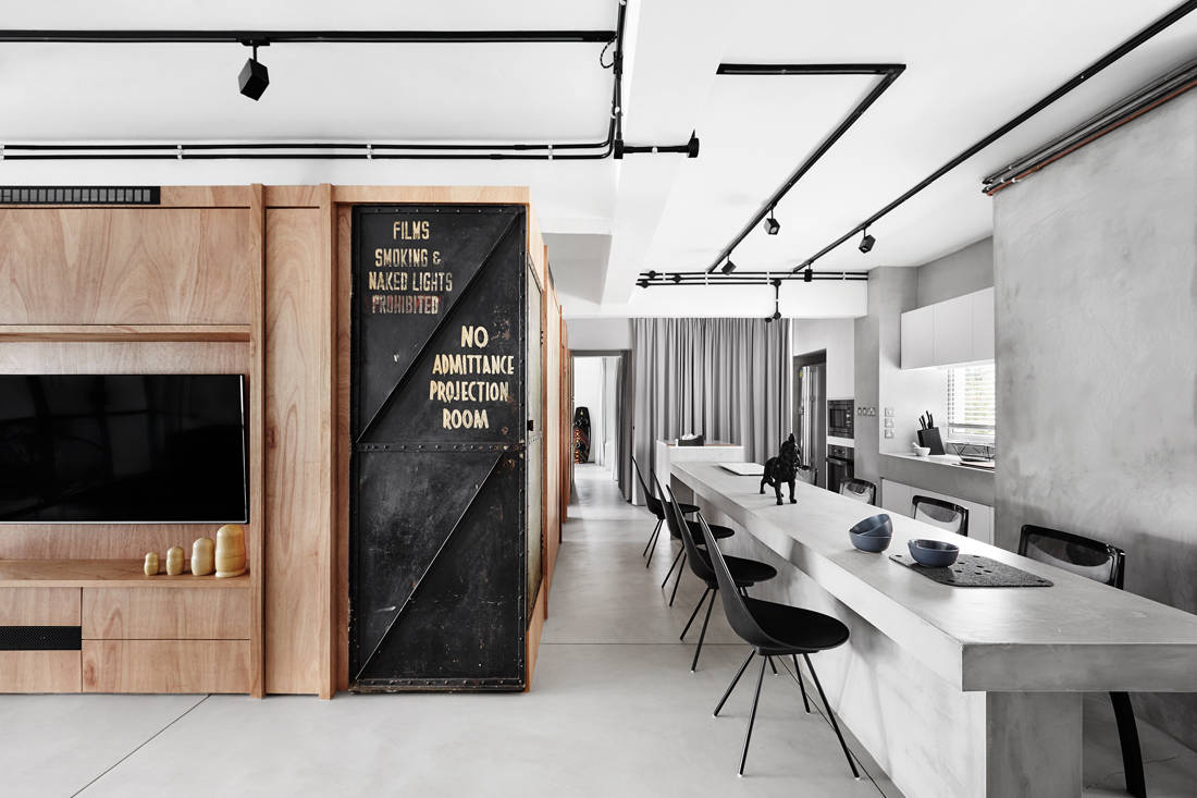 award-winning homes - The Crate Apartment by UPSTAIRS_