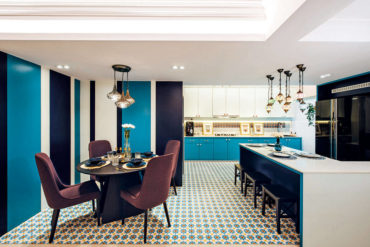 A colourful Moroccan-inspired family home