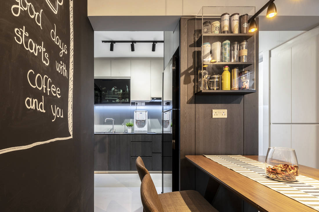 pet-friendly and childproof dining space by Metier Planner