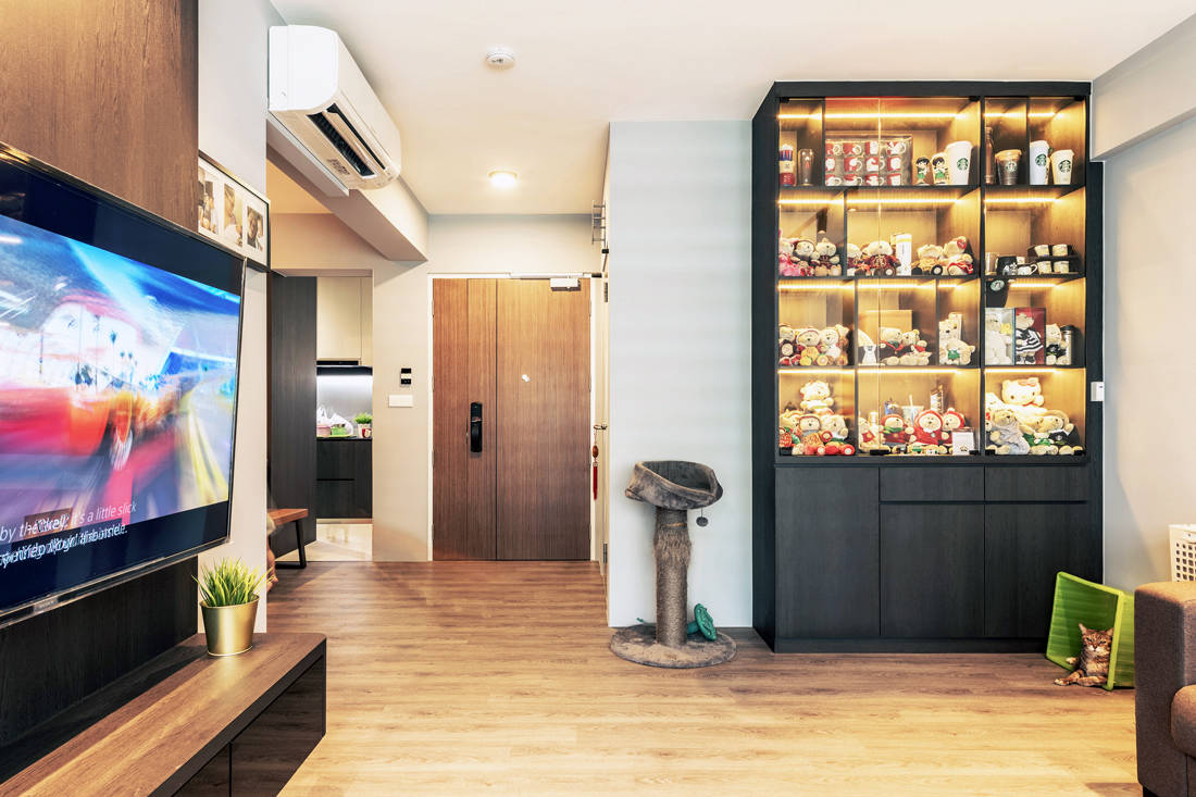 pet-friendly and childproof living area by Metier Planner