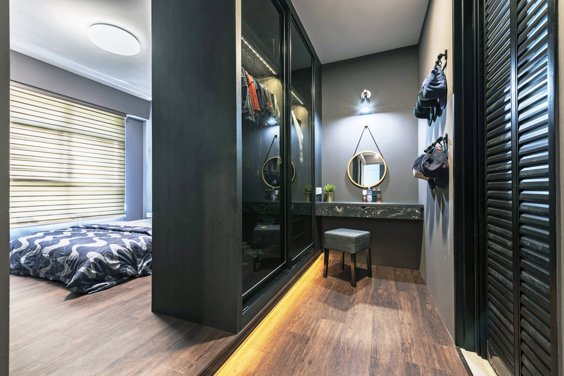 pet-friendly and childproof master bedroom by Metier Planner