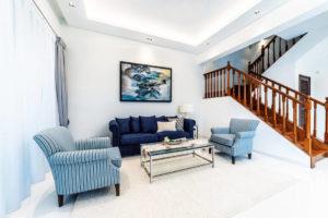 semi-detached house living room renovation by I.D.I.D