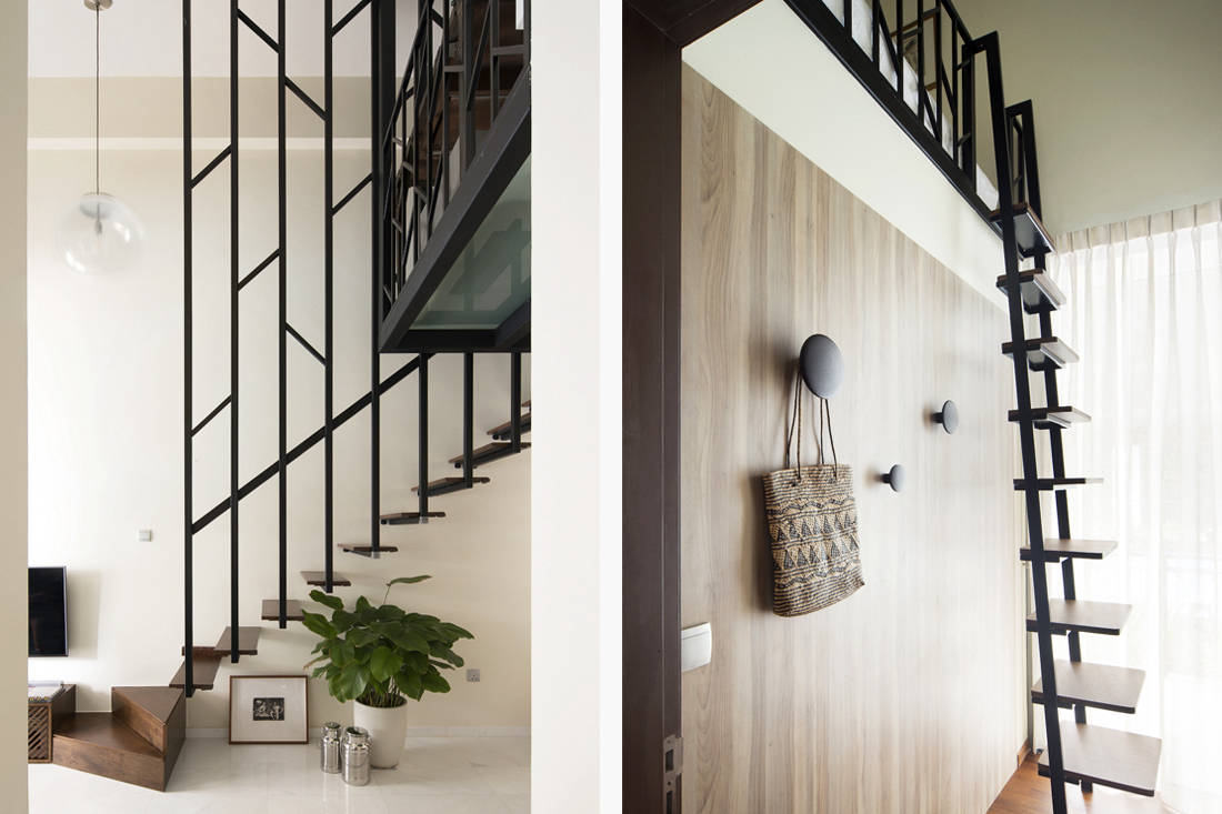 small apartment stair design by Prozfile