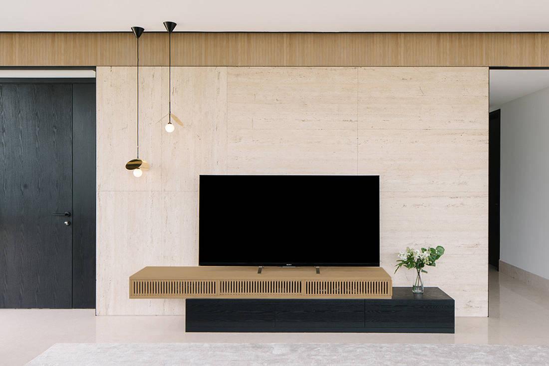 timeless Grange Garden Apartment TV console by Gabriel Tan