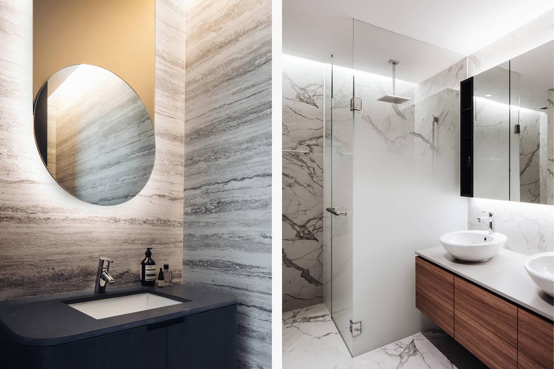 timeless Grange Garden Apartment bathrooms by Gabriel Tan