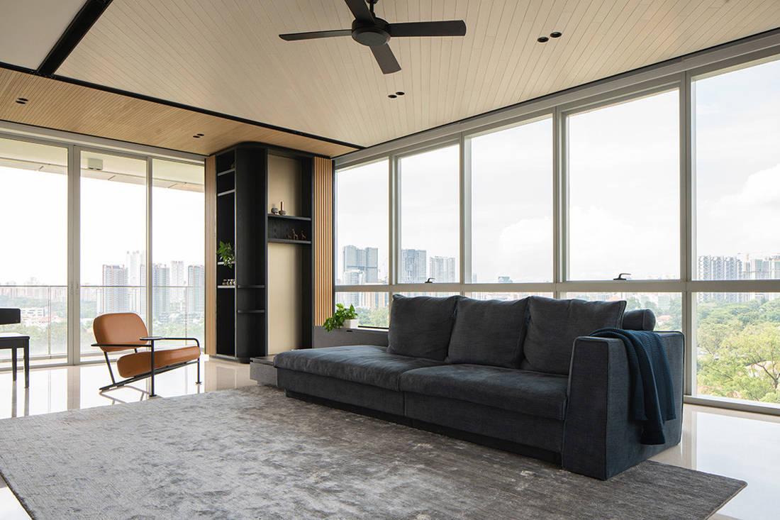 timeless Grange Garden Apartment living area by Gabriel Tan (2)