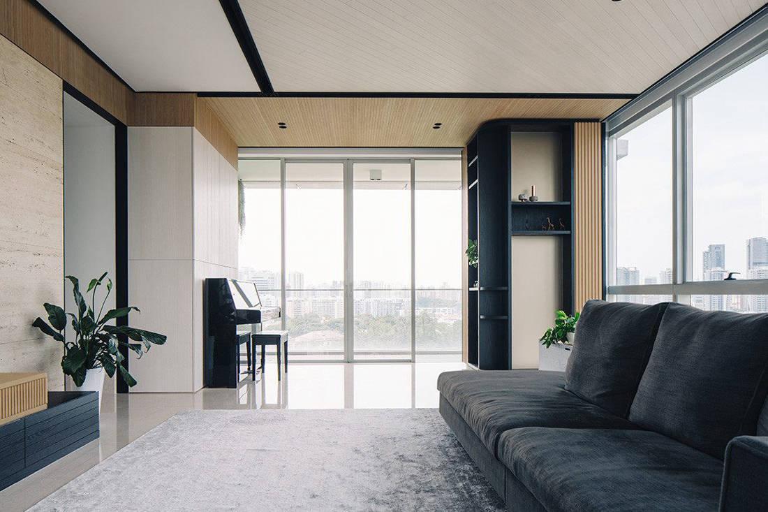 timeless Grange Garden Apartment living area by Gabriel Tan