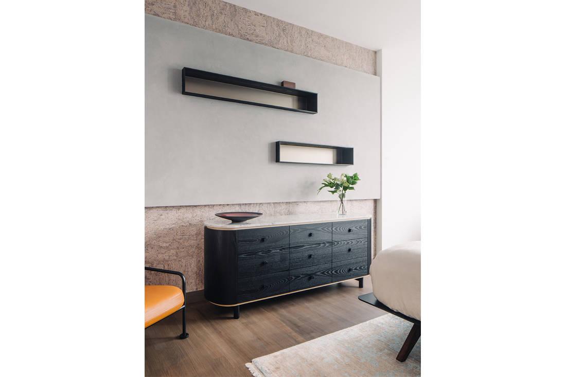 timeless Grange Garden Apartment master bedroom by Gabriel Tan